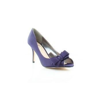 Nina Florice Women's Heels Grape Luster