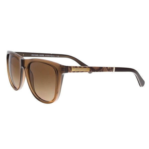 Michael Kors MK6009 301113 Algarve Brown Square Sunglasses - 54-18-135