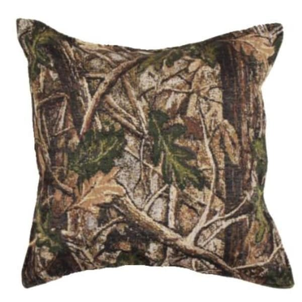 Set of 2 Nature's Camouflage Decorative Tapestry Throw Pillows 17""