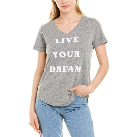 Sol Angeles Live Your Dream T-Shirt - HEATHER HEAT