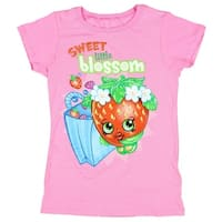Shopkins Big Girls' Sweet Little Blossom T-Shirt