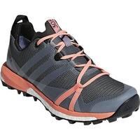 adidas Women's Terrex Agravic GORE-TEX Trail Running Shoe Grey Three/White/Chalk Coral
