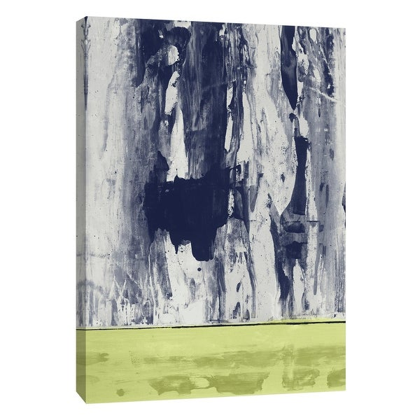 """PTM Images 9-108442 PTM Canvas Collection 10"""" x 8"""" - """"New Squeegeescape 12"""" Giclee Abstract Art Print on Canvas"""