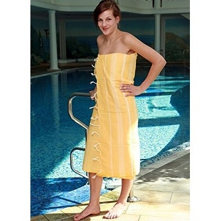 """Quick Dry Compact Super Absorbent %100 Cotton Turkish Towel Pestemal Oversized 39""""x70"""" by CottonCloudCo For Bath Beach"""