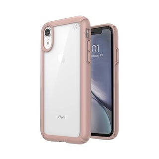 Link to Speck Presidio Show Designed for Impact Case for iPhone Xr - Clear/Rose Gold Similar Items in Cell Phone Accessories