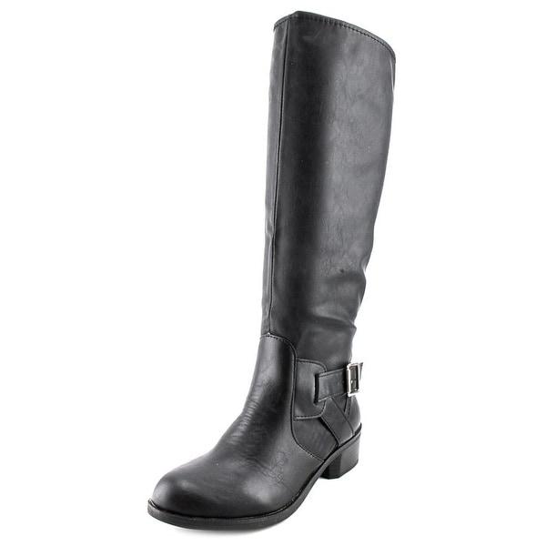 Arizona Jean Company Dylan Women  Round Toe Synthetic Black Knee High Boot