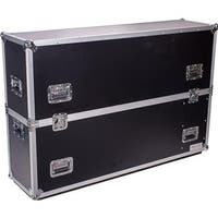 50 in. Deejay LED Fly Drive Case for one LED or Plasma Display wit