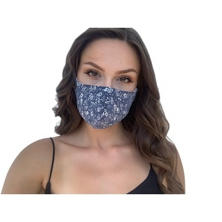 Link to Floral Print Women's Reusable Fashion Cloth Face Mask with Adjustable Straps Similar Items in Scarves & Wraps