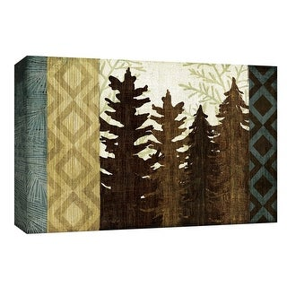 """PTM Images 9-153861  PTM Canvas Collection 8"""" x 10"""" - """"North Country I"""" Giclee Trees Art Print on Canvas"""