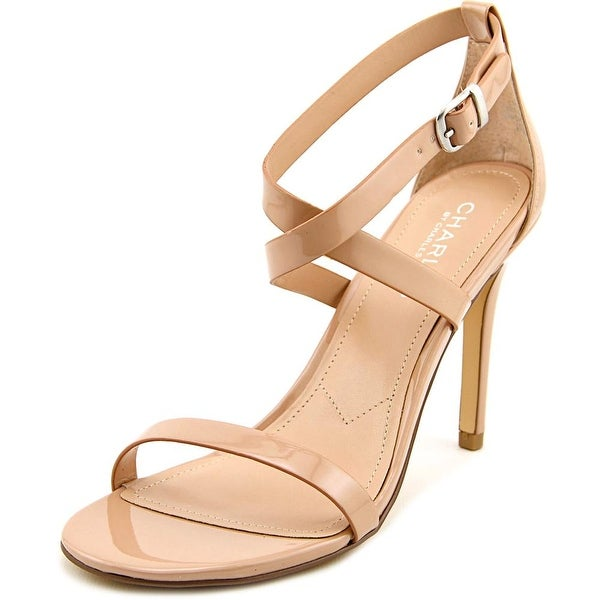 Charles By Charles David Rookie Women Open Toe Synthetic Nude Sandals