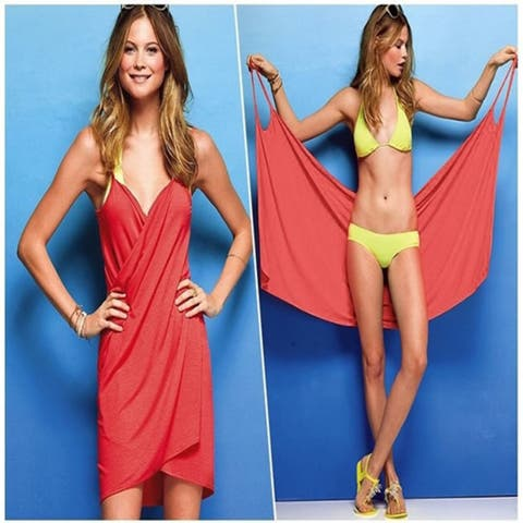 63246c2cc7 Endless Summer Wrap And Go Bikini Cover Up - one size fits: small - medium