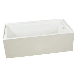 "Miseno MNO3260WAS-R Vitality 60"" Three Wall Alcove Soaking Bathtub - Self Leveli - White"