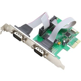 """Syba Multimedia SI-PEX15037 SYBA Multimedia 2-port Serial PCIe, x1, Revision 1.0a, (Full & Low Profile) - PCI Express x1"""
