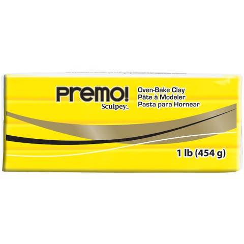 Premo Clay 1Lb-Cadmium Yellow Hue