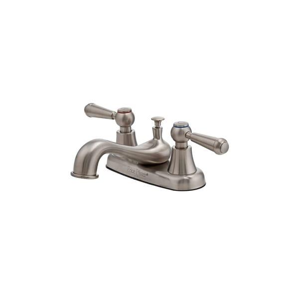 Shop Pfister Lg148 600 Pfirst Series Centerset Bathroom Sink Faucet