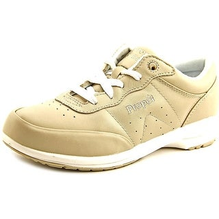 Propet Washable Walker 2E Round Toe Leather Sneakers