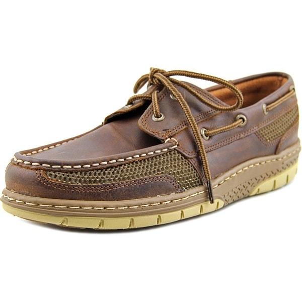 Sperry Top Sider Tarpon Ultralite Moc Toe Leather Boat Shoe