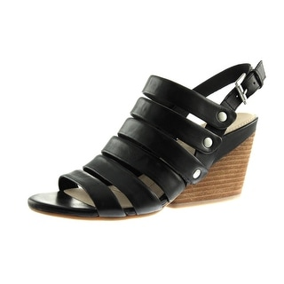 Naya Womens Lassie Leather Strappy Wedges