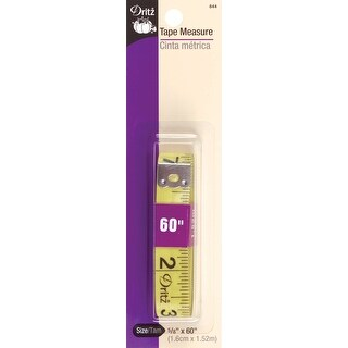 "Tape Measure-5/8""X60"" - YELLOW"