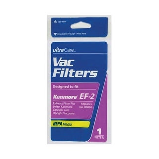 Kenmore 02080001 EF-2 Vacuum Filter For Powermate Canister Vacuums