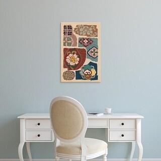 Easy Art Prints Ema Seizan's 'Japanese Textile Design III' Premium Canvas Art