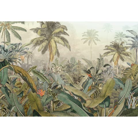 "Brewster XXL4-063 Amazonia 145"" x 98"" Landscape Non-Pasted - Green"