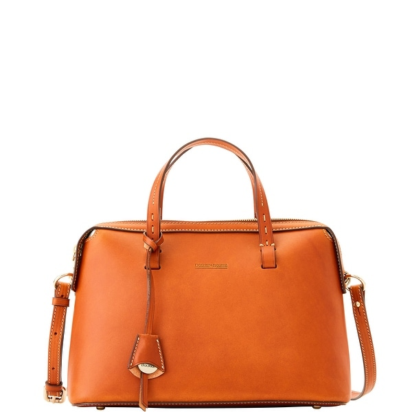 Dooney & Bourke Alto Nora (Introduced by Dooney & Bourke at $550 in Sep 2016) - Saddle
