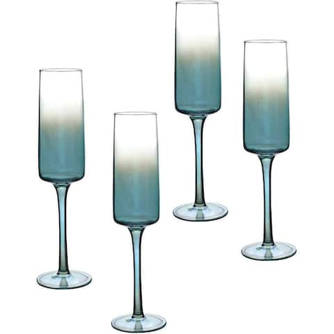 Portmeirion Atrium Champagne Flute Set of 4 - 8 oz