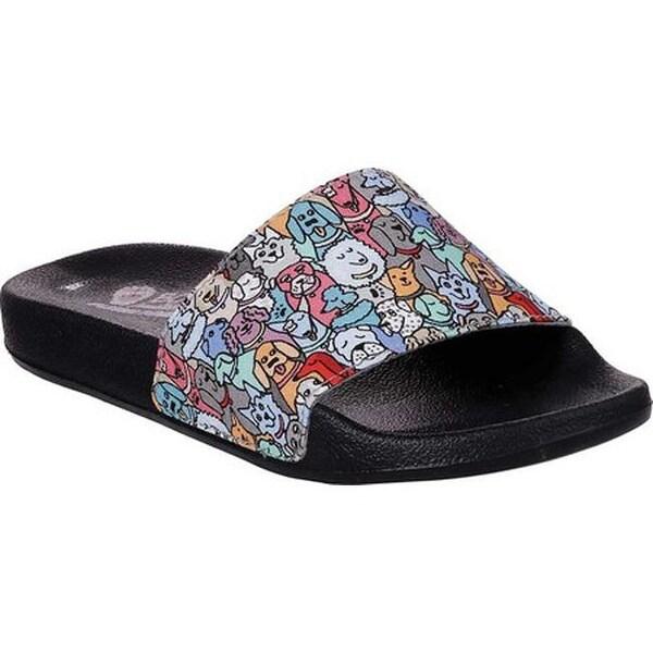 Shop Skechers Women S Bobs Pop Ups Woof About Slide Sandal