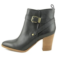 Franco Sarto Womens Delancy Leather Pointed Toe Ankle Fashion Boots - 5