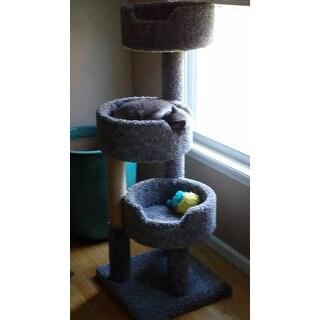 New Cat Condos Deluxe Kitty Pad Cat Tree