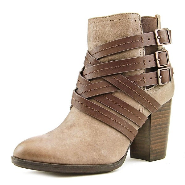 Sofft Arminda Women Round Toe Leather Gray Ankle Boot