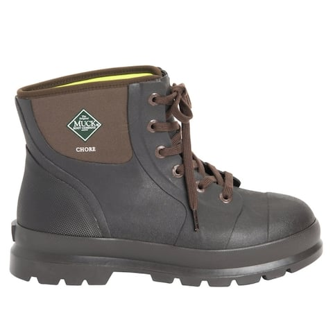 Muck Boot 6 Inch Chore Classic Mens Boots Ankle - Brown