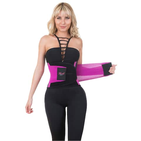 Neo Sweat Velcro Waist Trainer Belt Body Shaper Hourglass with N without NEOPRENE Extreme SAUNA Sweat Power Fajas