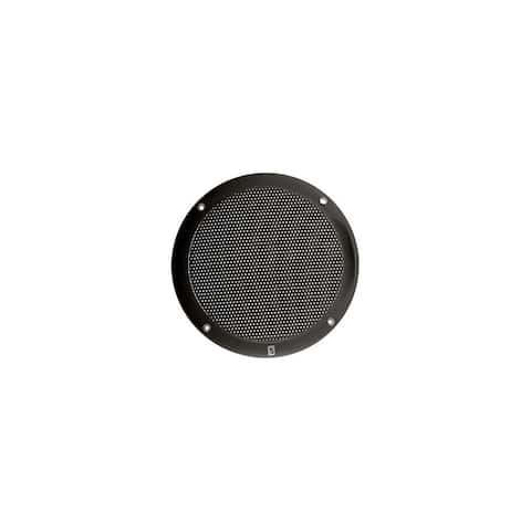 PolyPlanar 12542B Poly-Planar 4- Inch Round Flush-Mount Marine Speakers (Pair)