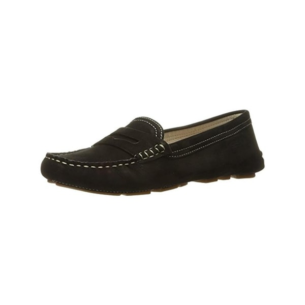 Sam Edelman Womens Filly Penny Loafers Contrast Stitch