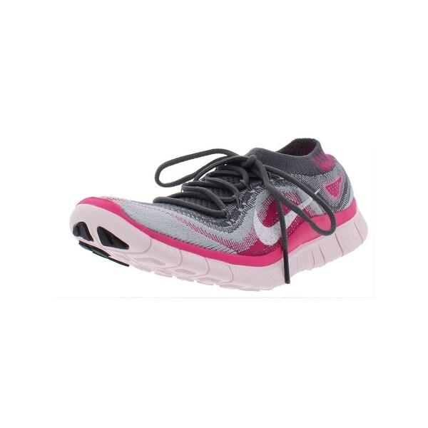 81f9e2f63d444 Shop Nike Womens Nike Free Flyknit+ Running