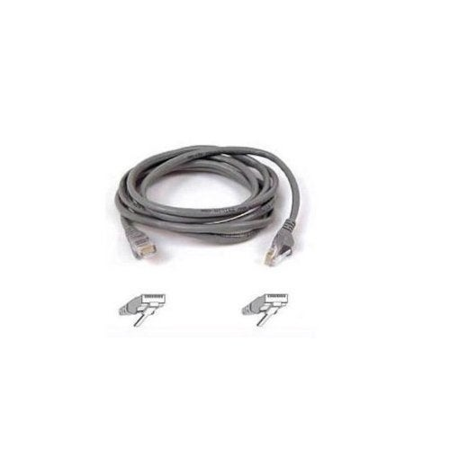 Belkin Components - 2Ft Cat5e Patch Cable, Utp, Gray Pvc Jacket, 24Awg, T568b, 50 Micron, Gold Plate