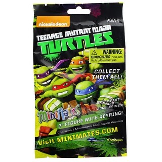 Teenage Mutant Ninja Turtles Minimates Series 2 Blind Bag, One Random - multi