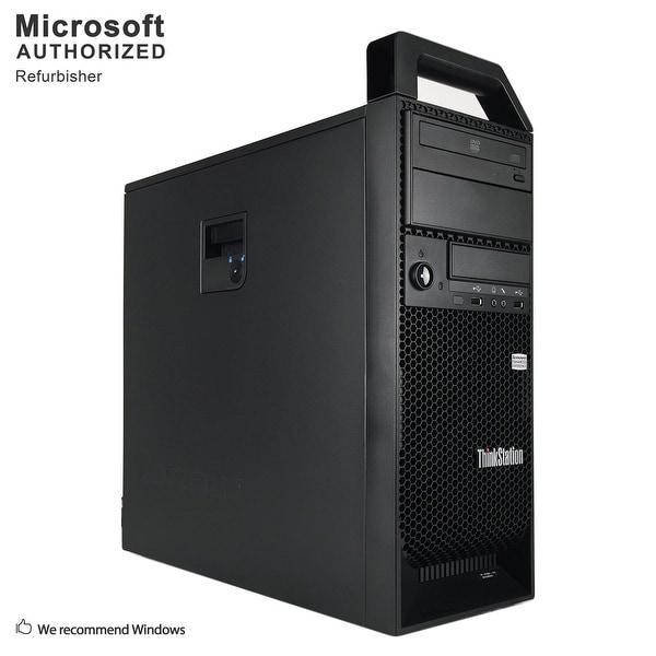 Certified Refurbished Lenovo S20 TW, XEON W3520 2.66G, 16G DDR3, 512G SSD + 3TB, 2GB VC, DVD, WIFI, BT 4.0, HDMI, W10P64 (EN/ES)
