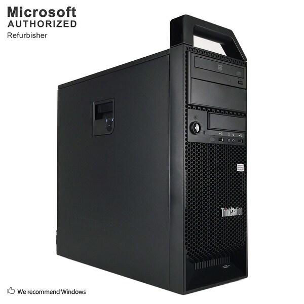 Certified Refurbished Lenovo S30 TW, XEON E5-1603 2.8G, 16GB DDR3, 512GB SSD+3TB HDD, 2GB VC, DVD, WIFI, BT 4.0, W10P64 (EN/ES)