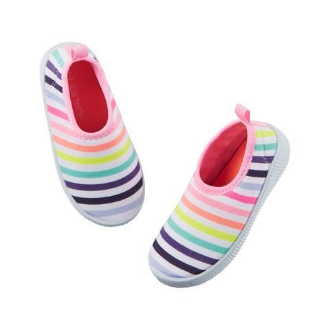 Carter's Big Girls' Slip-On Water Shoes, 7 Kids