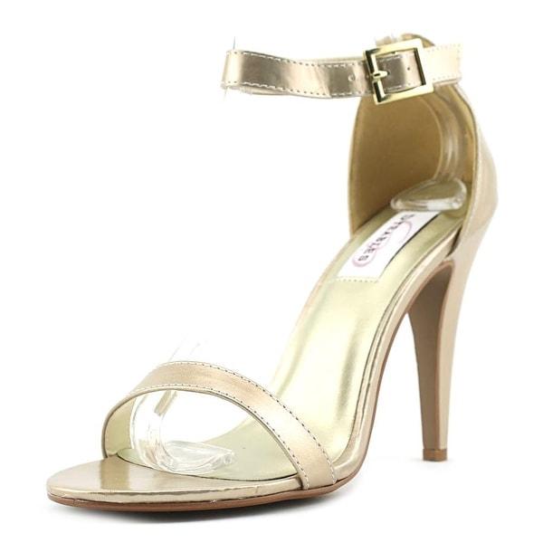 Dyeables Faith Nude Metallic Sandals