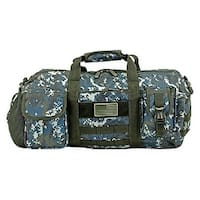 The Tactical Duffle Bag (Small) - Blue Digital Camo