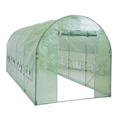 Walk-in Greenhouse Tunnel Tent Gardening Accessory