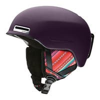 Smith Optics Snow Helmet Womens Allure AirEvac - matte frost woolrich