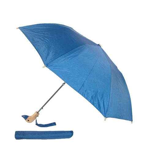 Leighton Wooden Duck Head Umbrella - One size