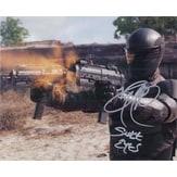 Signed Park Ray GI Joe Retaliation 8x10 Photo autographed