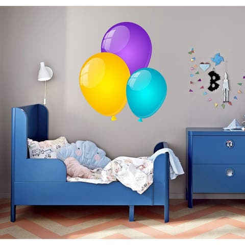 Colored Balloon Wall Decal, Colored Balloon Wall sticker, Colored Balloon wall decor