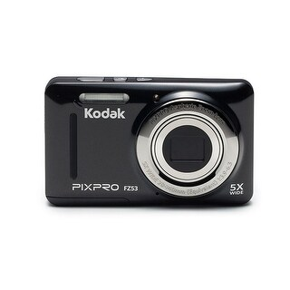 Kodak PIXPRO Friendly Zoom FZ53 Digital Camera (Black)